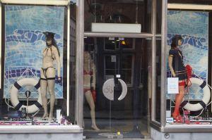 A sex shop in Brugge, Belgium (Photo by ME!)