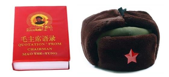 Cinese-Esercito-Russo-Trooper-Cappello-Colbacco-Verde-Inverno-Protezione-Calda-Con-Red-Star-Badge